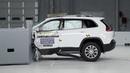 2019 Jeep Cherokee driver-side small overlap IIHS crash test