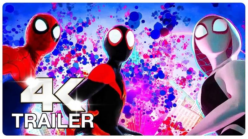 SPIDER-MAN: INTO THE SPIDER-VERSE Trailer 4 (4K ULTRA HD) NEW 2018