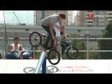 Соревнования по скейтбордингу и BMX на Ходынском поле. Синергия ТВ