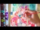 Summer Light -Watercolor Illustration