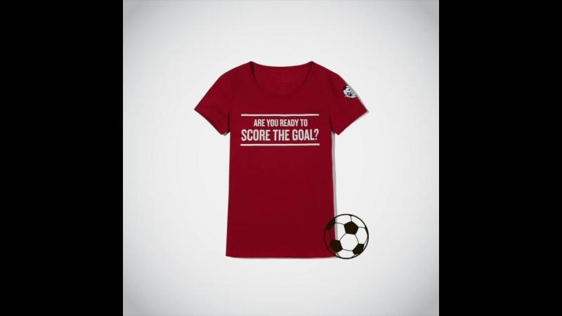Встречай специальную капсульную коллекцию от TOM TAILOR в честь года футбола в России! ⚽️
