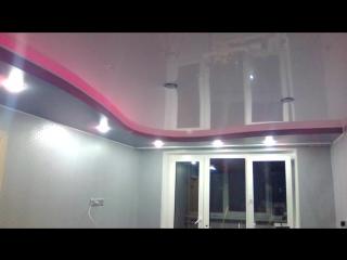 Натяжной потолок Два уровня г.Мурманск