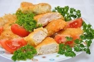 Домашний Макдоналдс – куриные наггетсы Ингредиенты: -500 г куриной