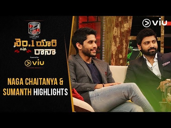 No 1 Yaari With Rana | Episode 2 Highlights | Naga Chaitanya | Sumanth | Viu India