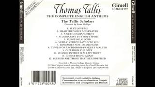 Thomas Tallis - Third Tune from Abp. Parker's Psalter (1567)