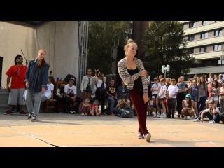 Juros svente hop hop'o ritmu 2013 Karina, Agne (MeGusta Klaipeda) Redzis (Ufas Fam ) House freestyle