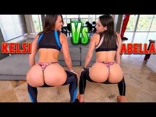 Twerk battle between two Big Booty Queens Abella Danger and Kelsi Monroe