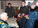 Накануне 8 марта в Ельце прошла традиционная акция «Открытка ветерану»