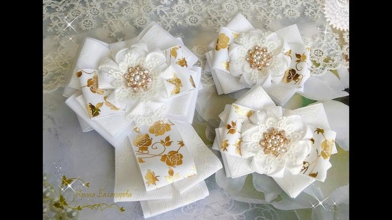 Моя коллекция комплектов бантики галстуки воротнички Irina Balakireva