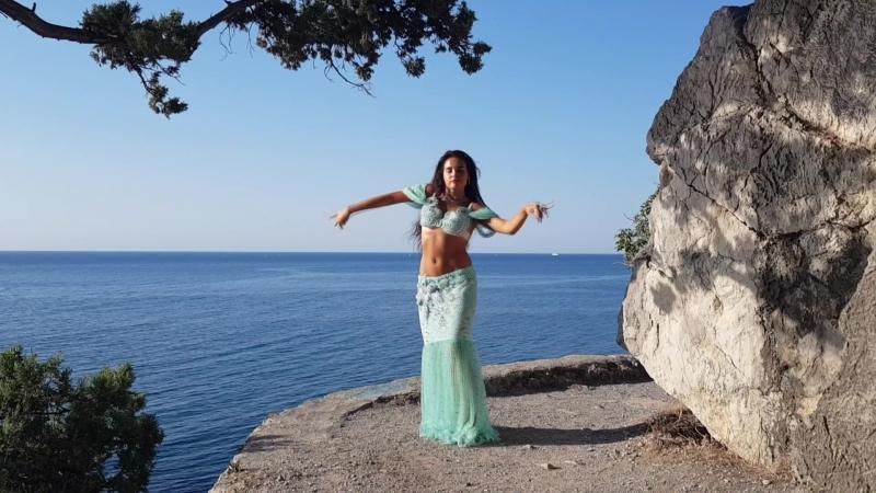 Arina Tishchenko ALMIRA Belly Dance HD | Tamally Maak - Amr Diab