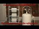 Компрессор своими руками из компрессоров от холодильника The compressor from the refrigerator
