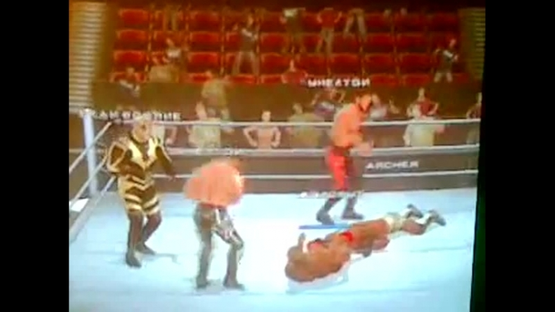 SvR 2011 Vance Archer vs shelton benjamin vs Vladimir Kozlov vs jackson vs Goldust vs Evan Bourne