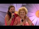 Lotta Engberg och Marianne Mörck singing the medley dedicated to their friend Lil-Babs.(Lotta På Liseberg 02.07.2018.)
