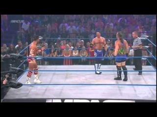 Robbie E vs AJ Styles vs Rob Van Dam - Impact 23/8/2012