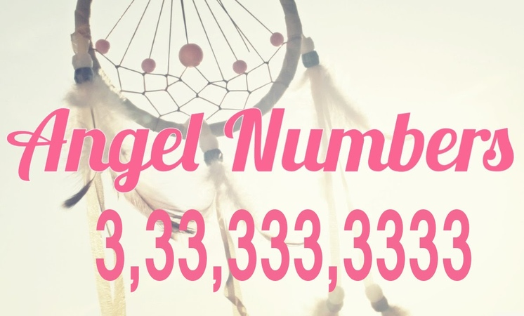 Angel Numbers 3,33,333,3333 repeating 3s