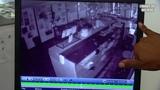 Полтергейст в кафе ночью...