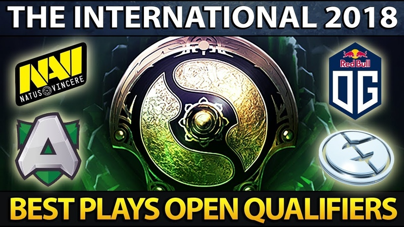 The International 8 Open Qualifiers Best Plays Dota 2