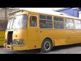 ЛиАЗ-677М обзор и попытка запуска после многолетней стоянки