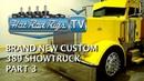 BRAND NEW PETERTBILT 389 SHOW TRUCK, PART 3 - BUILT BY THE BEST - HOT ROD RIGS TV