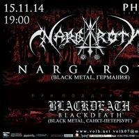 NARGAROTH в Санкт-Петербурге - 15 ноября 2014