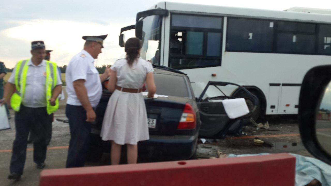 М4 Дон ДТП ст. Журавская Кореновский район Краснодарский край 06.06.2013