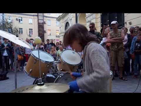 Евгений Петровский группа BooGie X, соло на барабанах