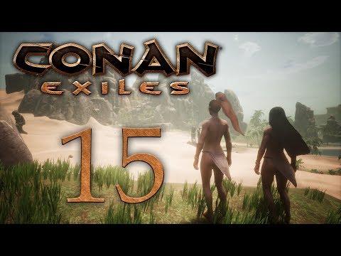 Conan Exiles - прохождение игры на русском - Продолжаем гулять по джунглям, жрица Деркето [15] | PC