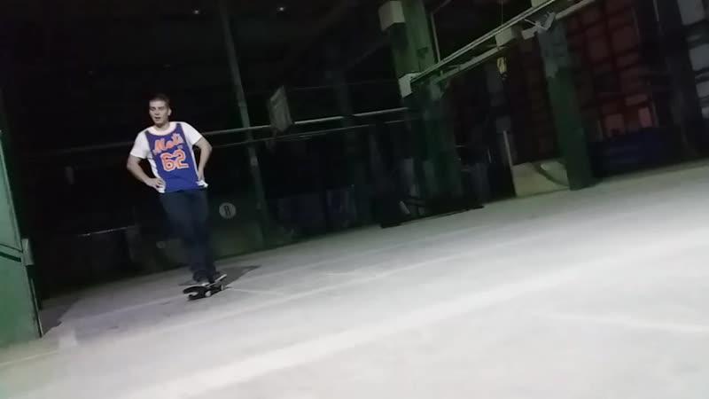 Ramses on skate - hardflip catch air 15.01.2019