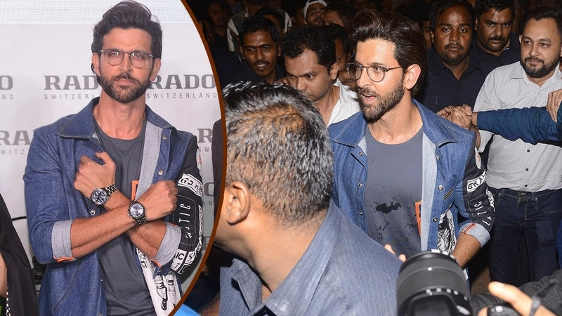 Hrithik Roshan Gets Mobbed By Crazy Fans At Palladium Mall