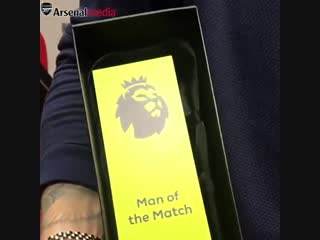 ️ Mate tea Man of the Match trophy - - All set for our journey back to London