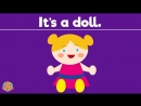 What Is It Song - Learn Toys - Guessing Game - Kindergarten, Preschool ESL - Fun Kids English
