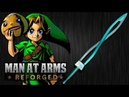 Link's Fierce Deity Sword Legend of Zelda Majora's Mask MAN AT ARMS REFORGED