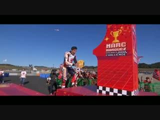 Motegi MotoGP- Marc Marquez 7th Championship celebration #JapaneseGP