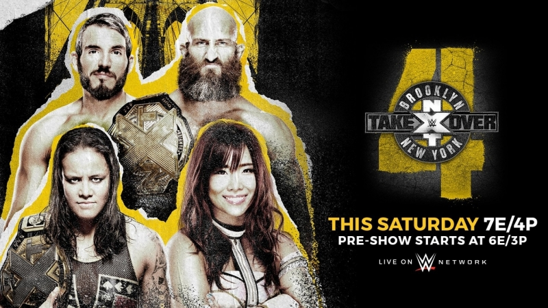 Смотрим NXT Takeover: Brooklyn 4