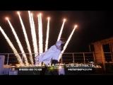 Пиротехническая поддержка первого танца молодоженов. «Масс Эффект»