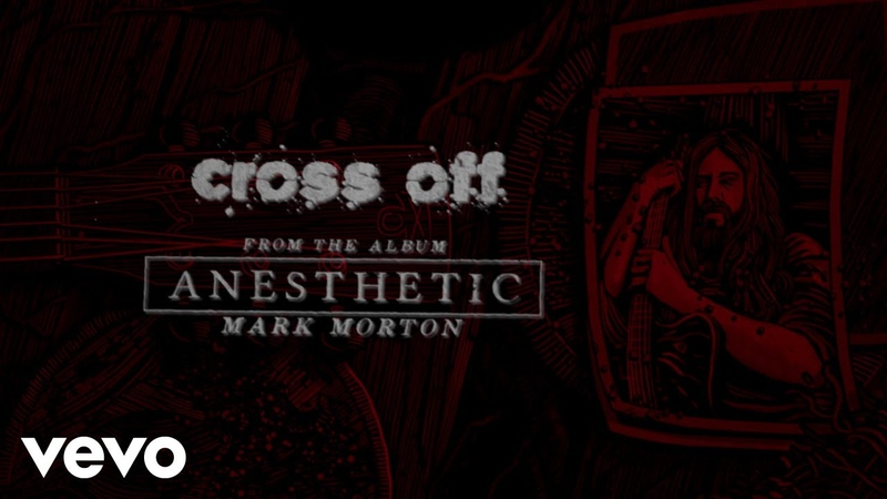 Mark Morton - Cross Off (Lyric Video) ft. Chester Bennington
