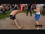 Боксер против Борца, хороший бой!