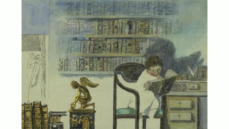 Работы лауреата премии Солженицына-2018 художника-иллюстратора Сергея Любаев