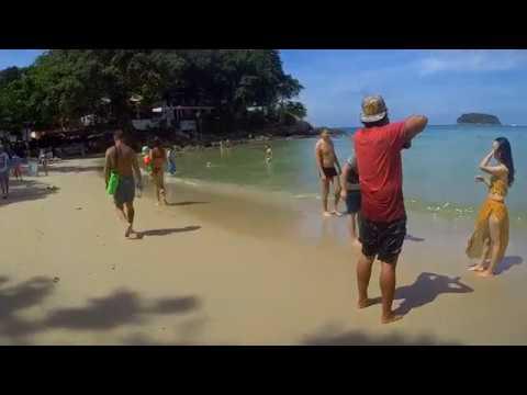 Thailand Phuket island. Kata beach. Остров Пхукет, Таиланд.