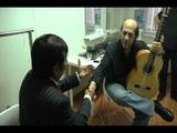 Hugo Chiliquinga entrega Guitarra a Paco de Luc