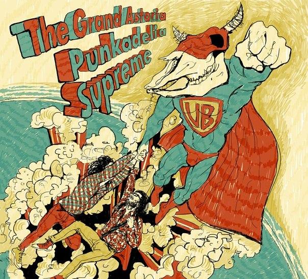 Подробности нового студийного альбома группы THE GRAND ASTORIA