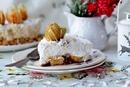 Торт без выпечки — с бананом и сливочным кремом