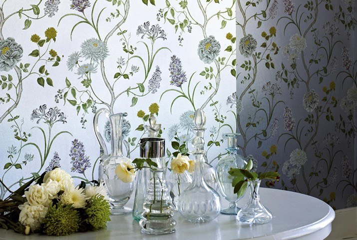 #wallpaper #sanderson #design  Дизайнерские обои Sanderson коллекция A PAINTERS GARDEN WALLPAPERS  http://www.