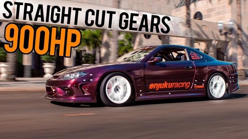 GoPro POV - 900HP 2JZ S15 Race Car Vs. STREETS!