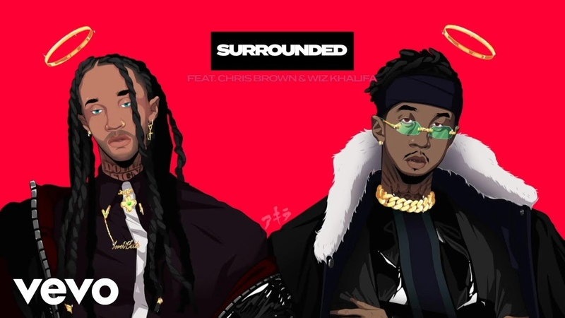 MihTy, Jeremih, Ty Dolla $ign - Surrounded (Audio) ft. Chris Brown, Wiz Khalifa