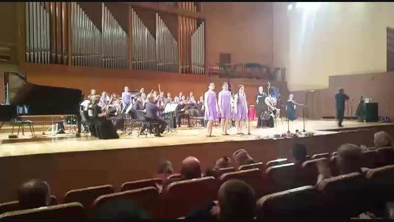 Фиалки А.Скарлатти. Исполняет детский специальный хор Мечта-Хыял и камерный оркестр Игоря Лермана в проекте Оркестр детям