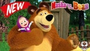 Masha and the Bear educational games for kids download free to play online video 3 episode