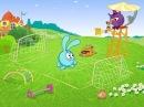 Смешарики - Обучающий мультик - Зарядка для малышей с Крошом