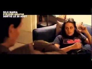 Entrevista de Kristen e Juliette Binoche em Cannes - Legendado