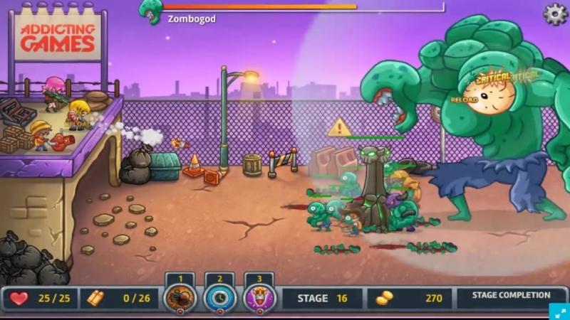 Игра Восстание Зомби в Городе @мультик игра про зомби @огромный босс зомби_HD.mp4